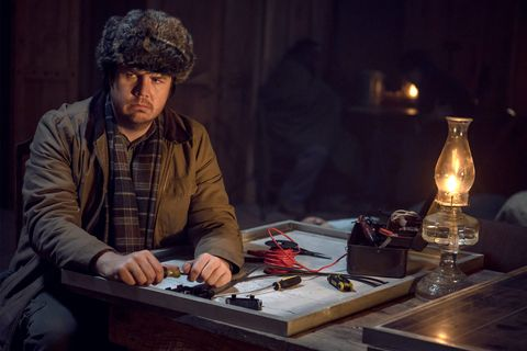 Josh McDermitt nel ruolo del Dr Eugene Porter, The Walking Dead