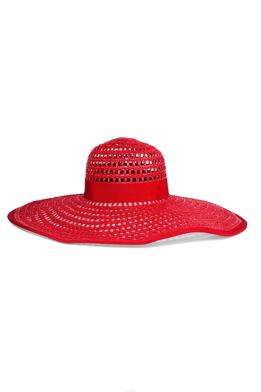 Eugenia Kim straw hat