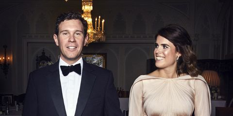 See Princess Eugenie S Zac Posen Second Wedding Dress For Her Royal Reception