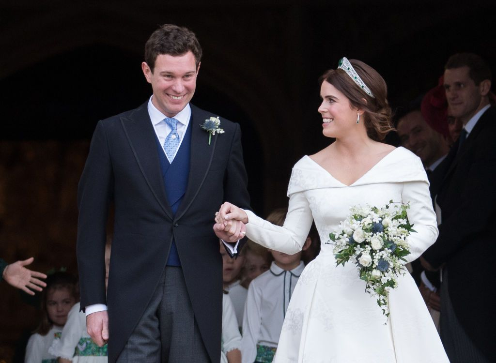 Princess Eugenie shares beautiful wedding video to celebrate first anniversary