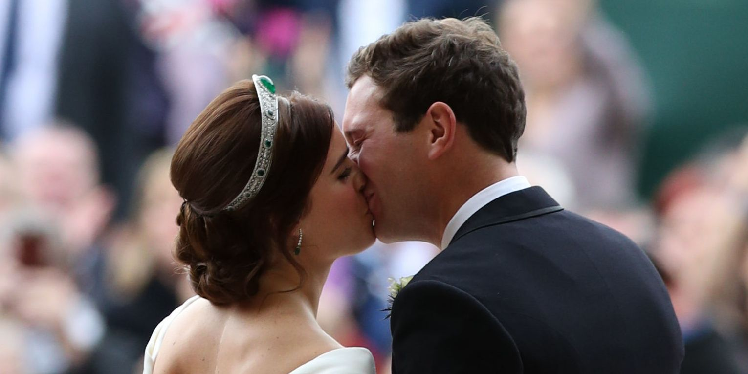 Princess Eugenie's earrings were a special gift from her new husband