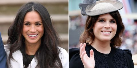 c71d2bbe59d0 Princess Eugenie takes style inspiration from Meghan and wears her ...