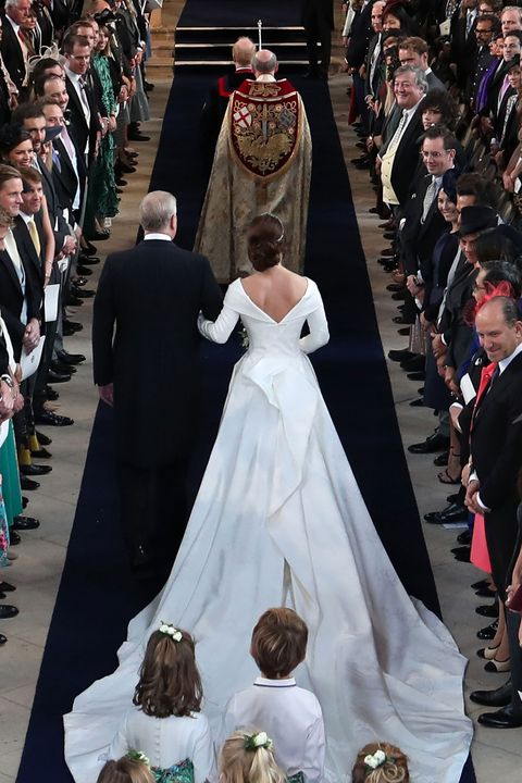 6a53c00c Princess Eugenie's Peter Pilotto wedding dress – See pictures of ...