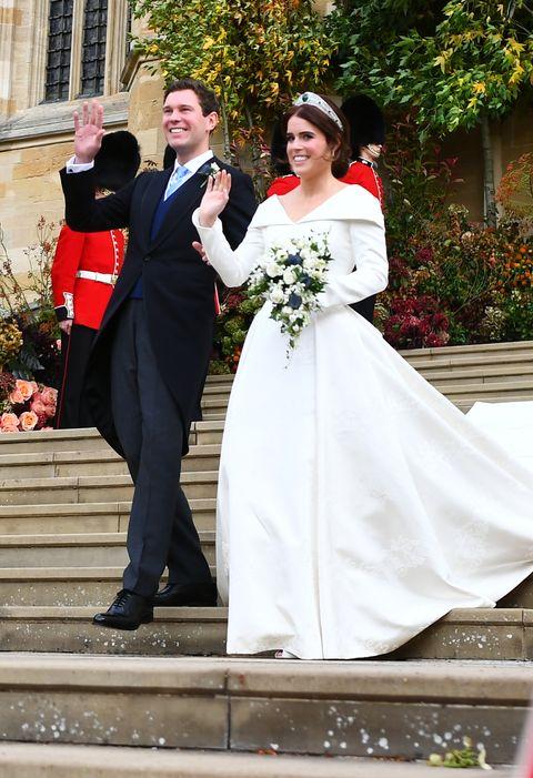 Image Getty Princess Eugenie Wedding Dress