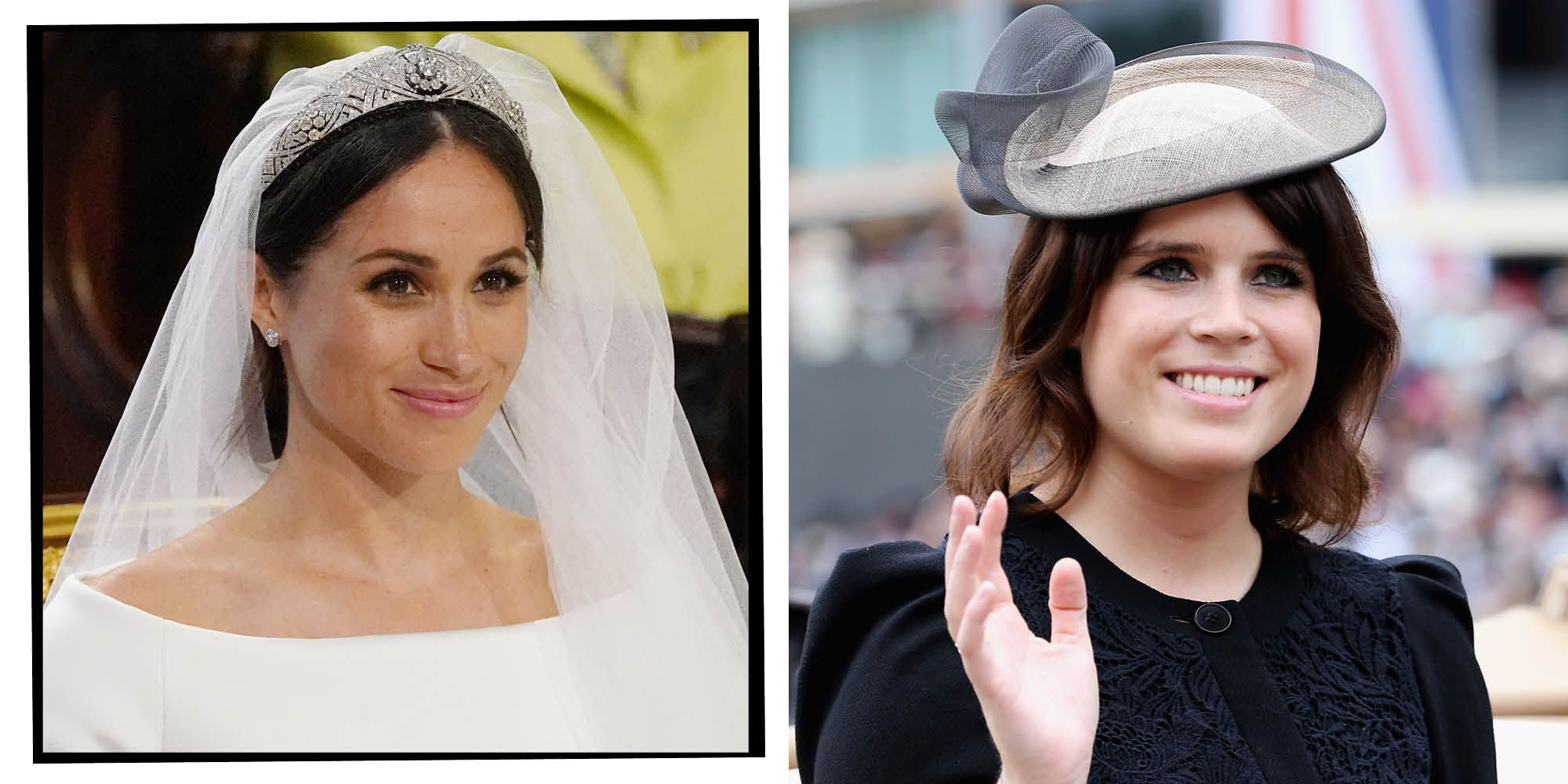 Princess Eugenie Copies Meghan Markle's Iconic Wedding Detail At St George's Chapel