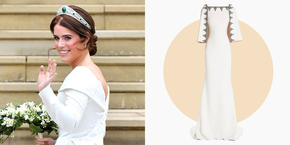 8 Gowns That Give You Princess Eugenie Vibes