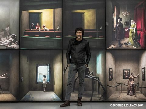 華山展覽,西班牙奇幻攝影大師尤傑尼歐特展,世界巡迴167座沉浸式攝影裝置!聯合數位文創