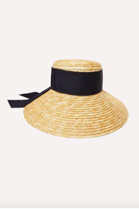 eugina kim hat, straw hat