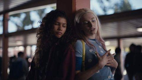 zendaya habla de la temporada 2 de 'euphoria'