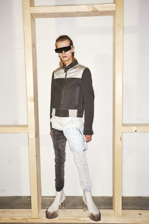 White, Clothing, Fashion, Jeans, Eyewear, Street fashion, Sportswear, Outerwear, Footwear, Denim,