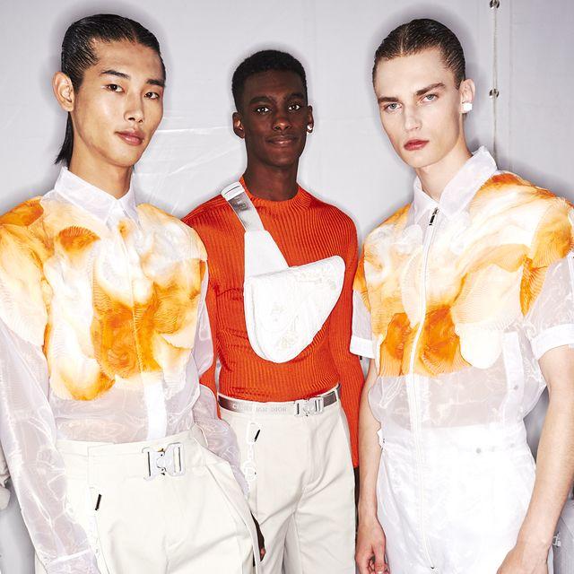 White, Fashion, Fashion design, Suit, Formal wear, Uniform,