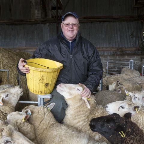Farmer in Pembrokeshire