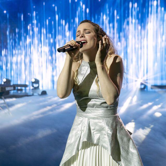 eurovision song contest the story of fire saga  l r will ferrell as lars erickssong, rachel mcadams as sigrit ericksdottir cr john wilsonnetflix © 2020