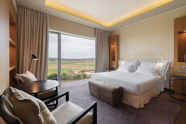 un hotel perfecto para amantes… del vino
