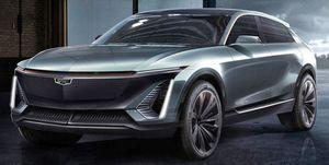 2020 Cadillac EV crossover teaser