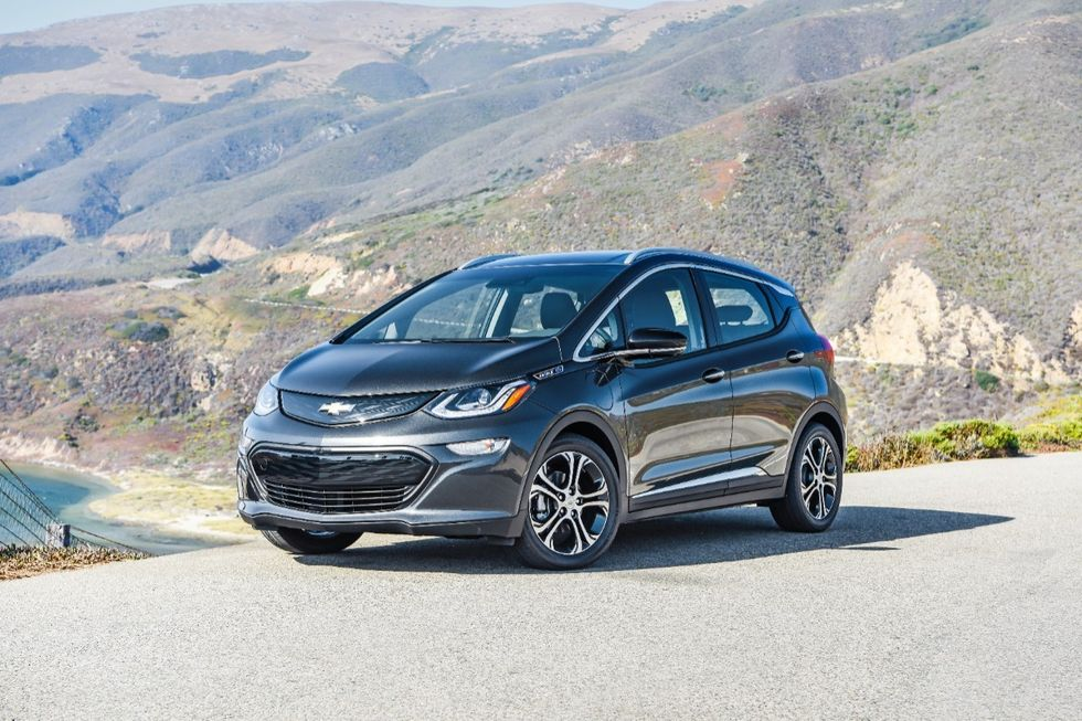 2017–2019 Chevy Bolt EVs under New Recall over Battery Fire Risk