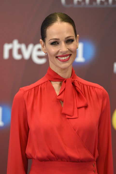 Eva González en la presentación de MasterChef Celebrity 3