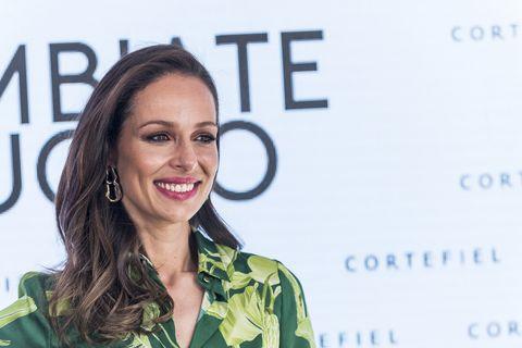 Eva Gonzalez presenta la campaña de Cortefiel