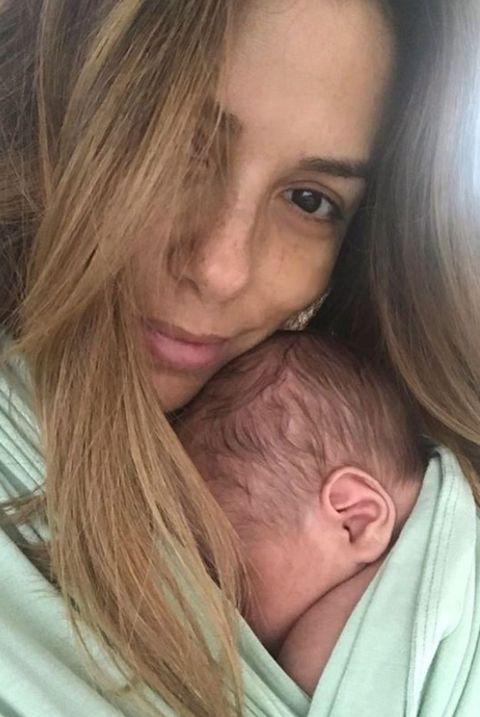 Eva Longoria con su hijo