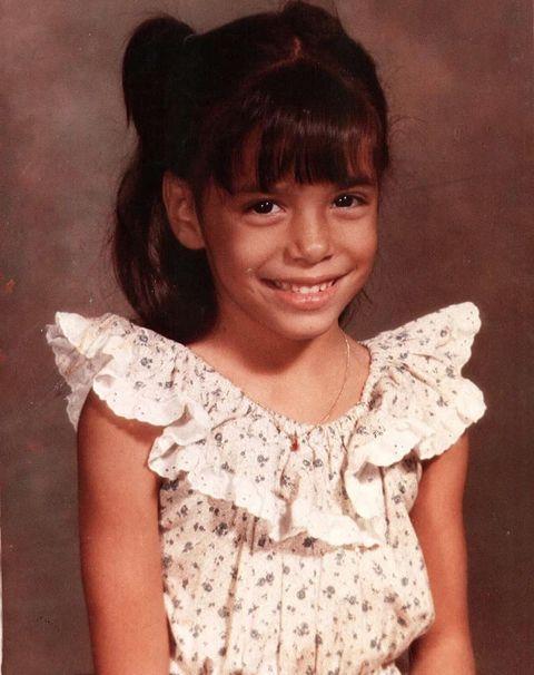 Eva Longoria comparte una foto de su infancia