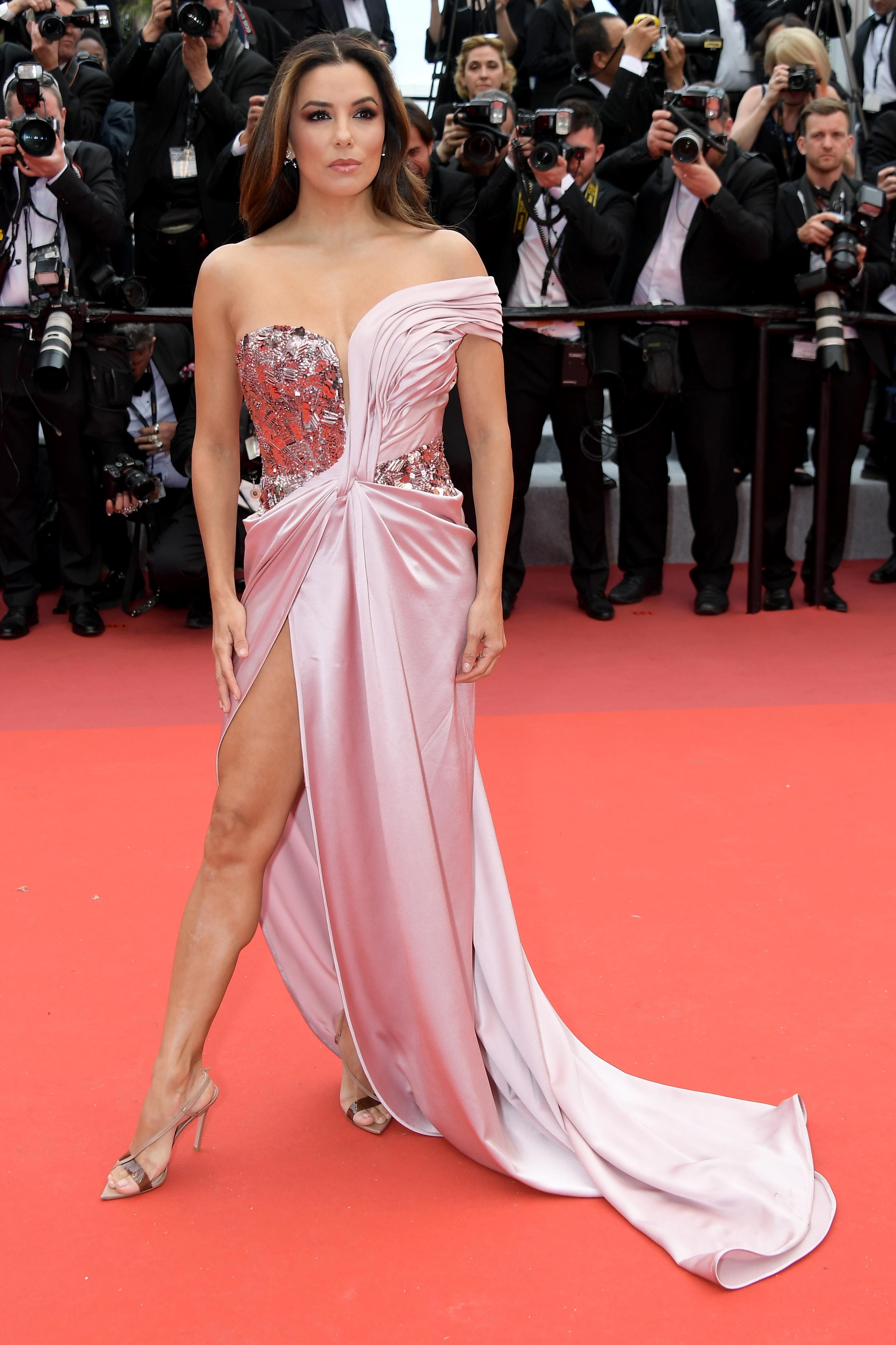 Eva Longoria At the opening ceremony of the Cannes Film Festival and premiere of The Dead Don't Die .