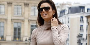 Celebrity Sightings In Paris - September 25, 2019