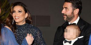 Eva Longoria presume de su marido y su hijo Santiago en Cannes