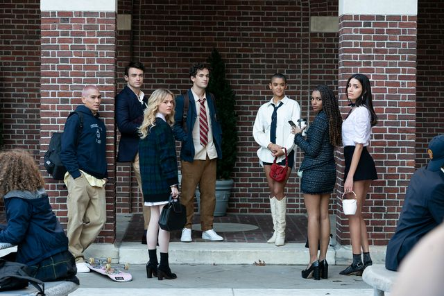 gossip girl reboot school