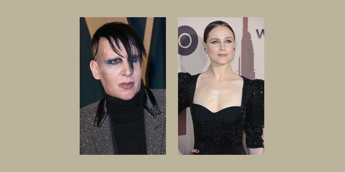 Evan Rachel Wood accuses Marilyn Manson of abuse
