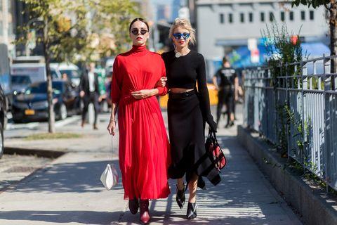New York Fashion Week - Street Style - Day 7