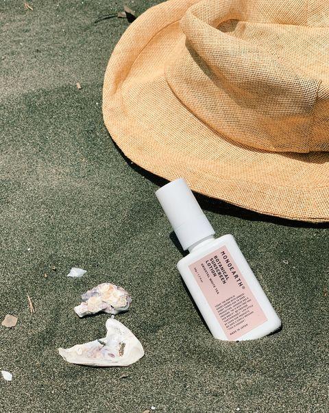 mono earth botanical sun screen lotion