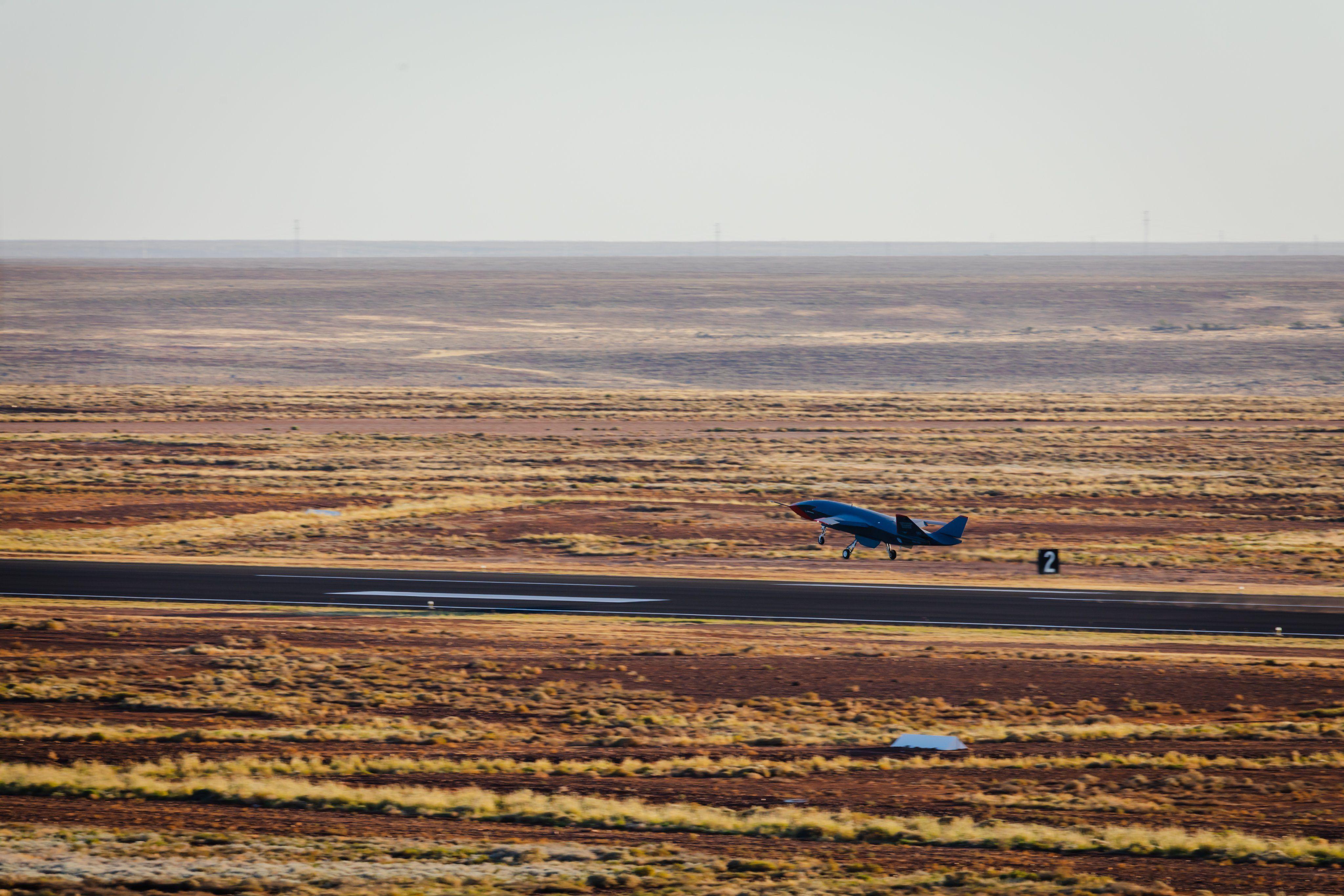 Watch Australia's First New Warplane in Half a Century Take Flight