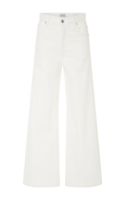 White, Clothing, Jeans, Trousers, Denim, Pocket, Active pants, Sportswear,