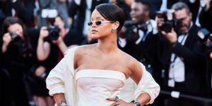 Rihanna tijdens Cannes Film Festival: deze events zijn gecanceld zijn door het coronavirus.