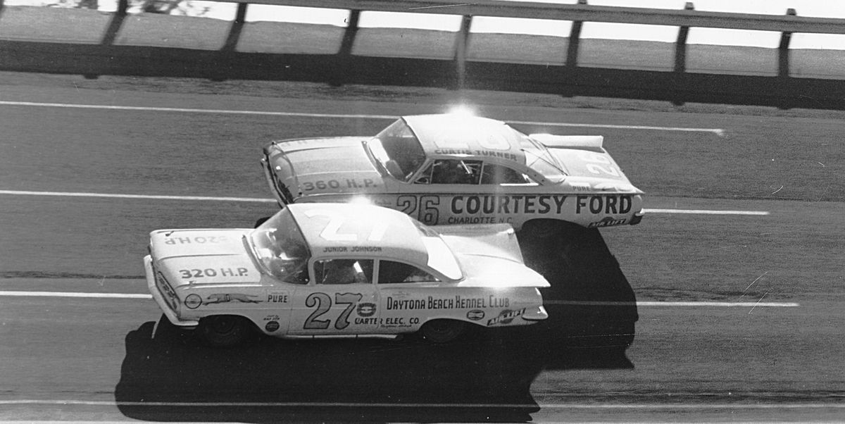 Junior Johnson (or was it Richard Petty?) discovered the draft and changed NASCAR forever