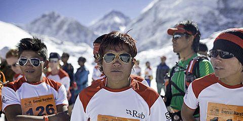2014 prerace at Tenzing Hillary Everest Marathon