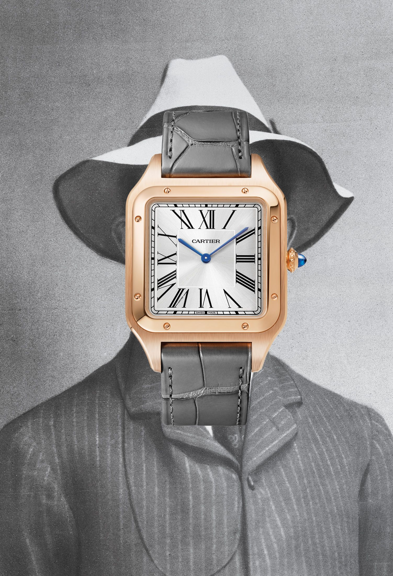 The High-Flying History of Cartier's Santos-Dumont Watch