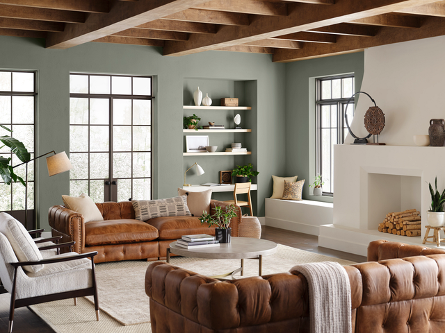 sherwin williams's color of the year evergreen
