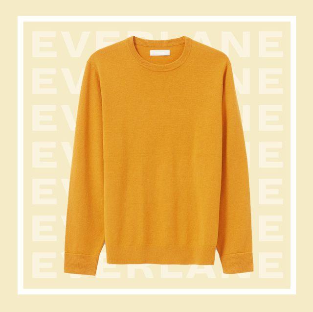 Clothing, T-shirt, Sleeve, Yellow, Orange, Top, Neck, Outerwear, Shirt, Brand,