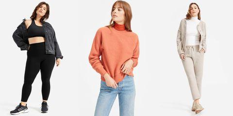 Clothing, Jeans, Shoulder, Sleeve, Neck, Fashion, Outerwear, Waist, T-shirt, Fashion model,