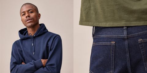 Denim, Jeans, Clothing, Blue, Textile, Pocket, Outerwear, Trousers, Sleeve, Waist,