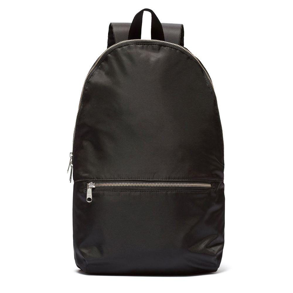 everlane packable black backpack