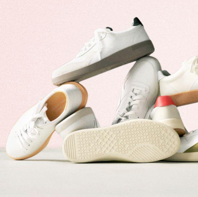 everlane releather sneakers