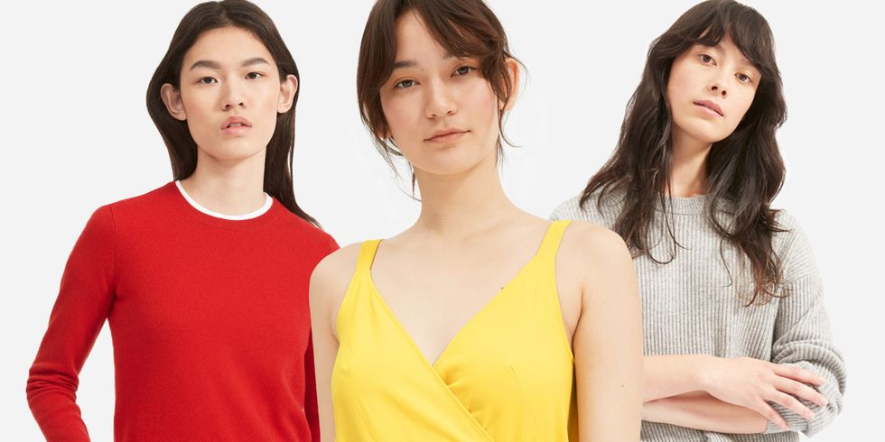 All of Your Favorite Basics Are on Sale at Everlane