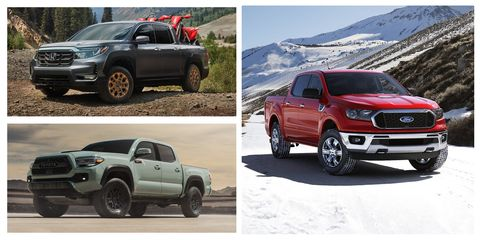 Best New Mid Size Pickup Trucks Of 2021