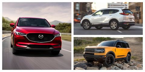 every 2021 compact crossover and suv ranked