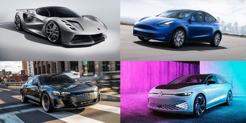Every Electric Vehicle That's Expected in the Next Two Years
