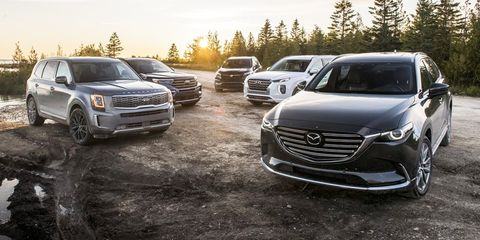 every mid size crossover and suv ranked 2021