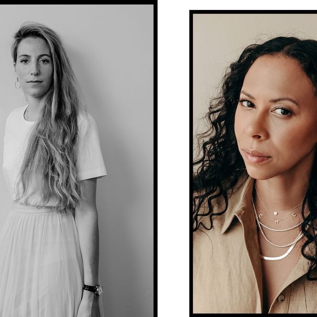 three jewelry designers wearing their favorite everyday earrings