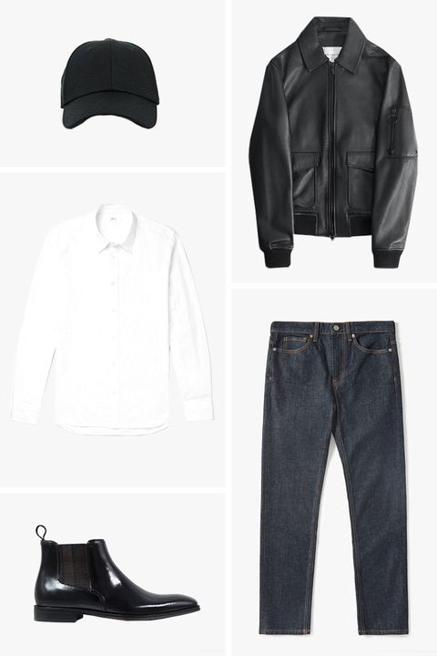 everyday essentials fall outfit for men